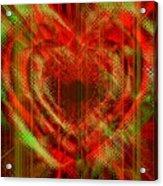 An Inimitable Heart Acrylic Print
