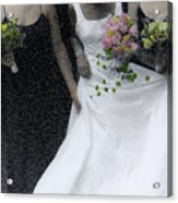 An Intimate Moment At The Wedding Acrylic Print