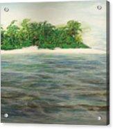 An Island All To Myself 1 Acrylic Print