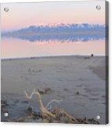 An Island Sunset Acrylic Print