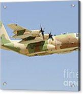 An Israeli Air Force Kc-130h Karnaf Acrylic Print
