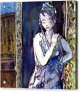 An Italian Violet Acrylic Print