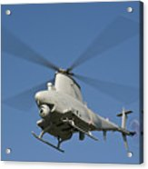 An Mq-8b Fire Scout Unmanned Aerial Acrylic Print