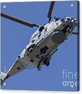 An Nh90 Helicopter Of The French Navy Acrylic Print