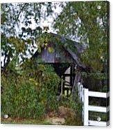 An Old Barn Acrylic Print