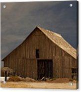 An Old Barn In Rural California Acrylic Print