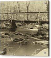 An Old Bridge Acrylic Print