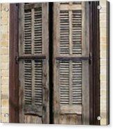 An Old Door In Neve Tzedek Tel Aviv Acrylic Print