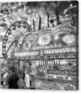 An Old Fashioned Carnival Acrylic Print