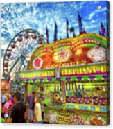 An Old Fashioned Midway Acrylic Print