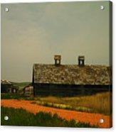 An Old Montana Barn Acrylic Print