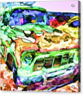 An Old Pickup Truck 1 Acrylic Print