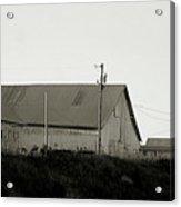 An Old Weathered Barn Acrylic Print