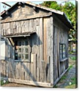 An Old Wooden Shack Acrylic Print