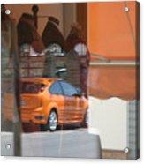 An Orange Kinda Day Acrylic Print