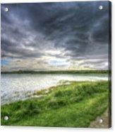 An Ordinary British Sky Acrylic Print