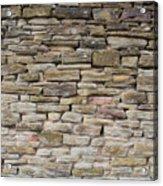 An Uneven Rock/stone/brick Wall Acrylic Print