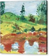 An Upland Meadow Acrylic Print