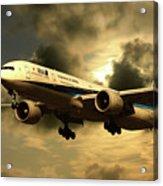 Ana Boeing 773 Ja784a Acrylic Print