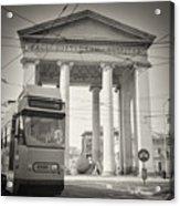 Analog Black And White Photography - Milan - Porta Ticinese Acrylic Print
