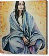 Ananda Mayi Ma Acrylic Print