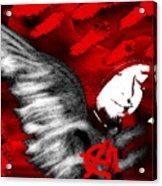 Anarchy Angel Acrylic Print
