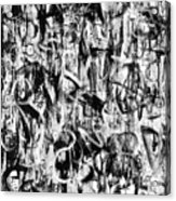 Anarchy Acrylic Print