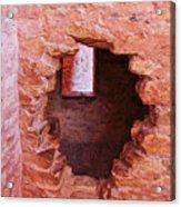 Anasazi Cliff Dwellings #10 Acrylic Print