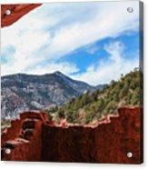 Anasazi Cliff Dwellings #21 Acrylic Print