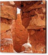 Anasazi Cliff Dwellings #8 Acrylic Print
