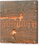 Anasazi Dancers Acrylic Print