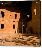 Anasazi Kiva Acrylic Print