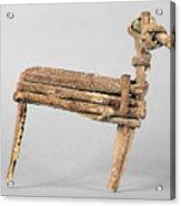 Anasazi Split-twig Figure Acrylic Print
