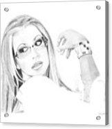 Anastacia Acrylic Print