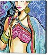 Anchita Acrylic Print