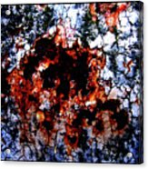 aNchor rUst Acrylic Print
