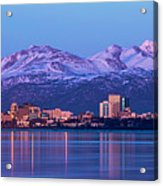 Anchorage Lights Acrylic Print