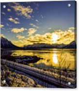 Anchorage Sunrise Acrylic Print