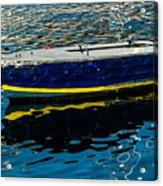 Anchored Boat Acrylic Print