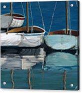 Anchored Reflections I Acrylic Print