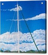 Anchored Acrylic Print