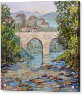 Ancient Bridge Acrylic Print