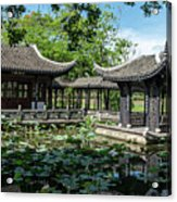 Ancient Chinese Architecture Acrylic Print