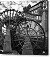 Ancient Chinese Waterwheels Acrylic Print