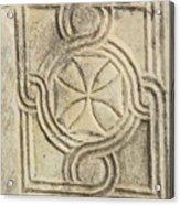 Ancient Cross Pattee Acrylic Print