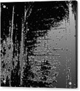 Ancient Door Abstract Art Acrylic Print