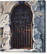 Ancient Door Acrylic Print