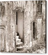 Ancient Door Way Acrylic Print