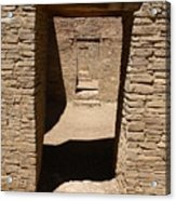 Ancient Doorways Acrylic Print