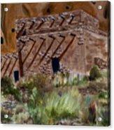 Ancient Dwelling Acrylic Print